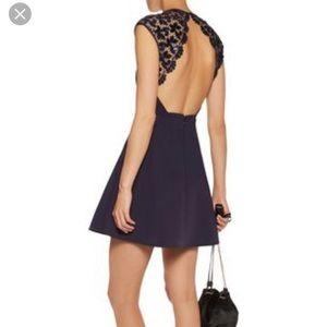 maje black dress size 3